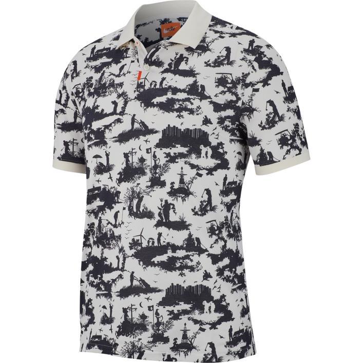 Men's Dri-FIT Toile Print Short Sleeve Shirt