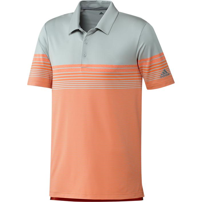 Men's Ultimate Gradient Block Stripe Short Sleeve Shirt
