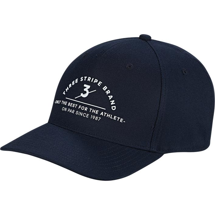 Men's 3 Stripe Brand Midfit Cap