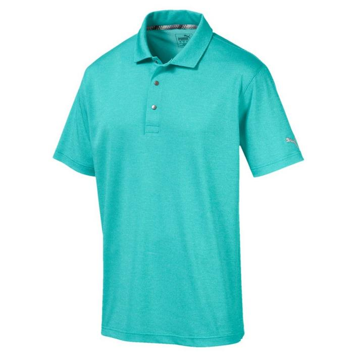 Men's Grill to Green Heather Short Sleeve Shirt