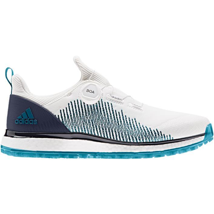 Chaussures Parley Forgefiber BOA sans crampons pour hommes - Blanc/Bleu