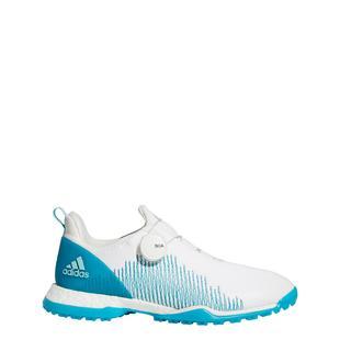 Chaussures Forgefiber BOA sans crampons pour femmes - Blanc/Bleu