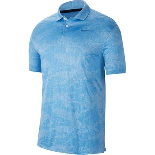 Men's Dry Vapor Camo Jacquard Short Sleeve Polo