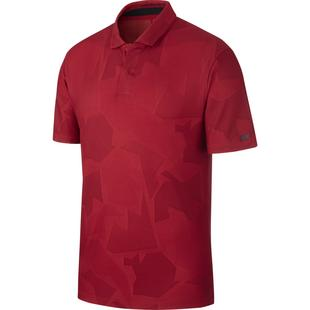 Men's TW Camo Jacquard Short Sleeve Polo