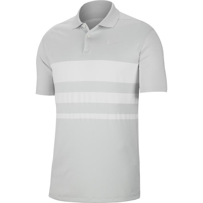 Men's Dry Vapor Stripe Short Sleeve Polo