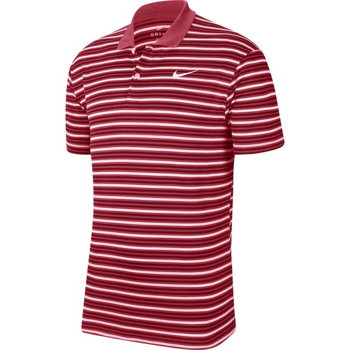 Men's Dry Victory Stripe Short Sleeve Polo
