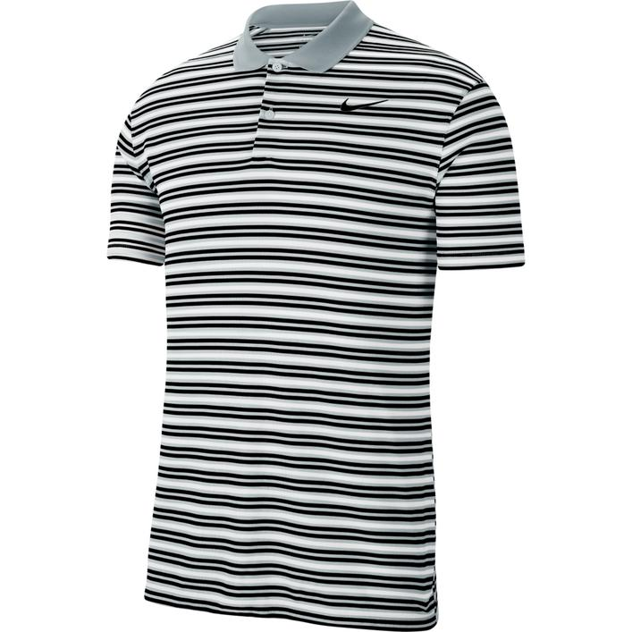 Men's Dry Victory Stripe Short Sleeve Polo
