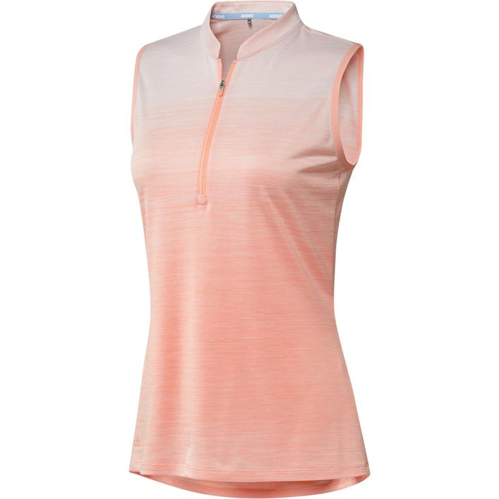 Women's Novelty Sleeveless Polo