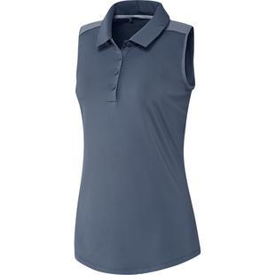 Women's Ultimate Heathered Sleeveless Polo