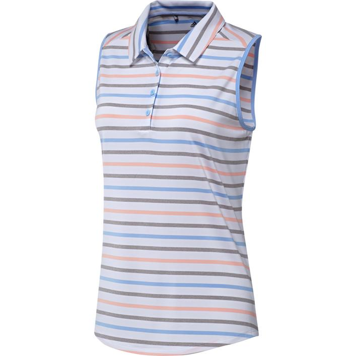 Women's Ultimate Stripe Sleeveless Polo