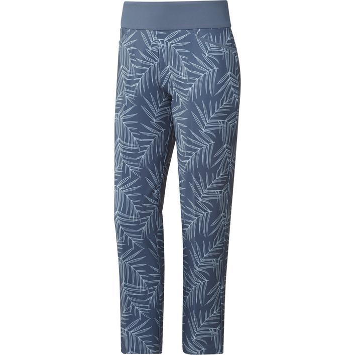 Pantalon 7/8 à imprimé avec taille élastique pour femmes