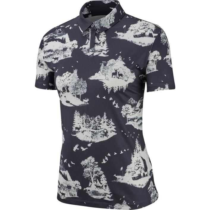 Women's Dry UV Print Toile Short Sleeve