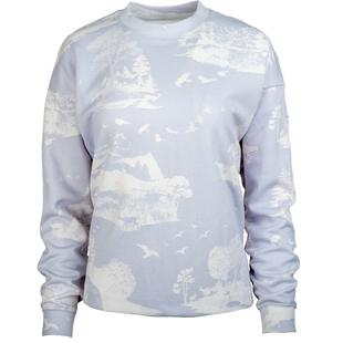 Women's Dry Printed Pullover Sweater