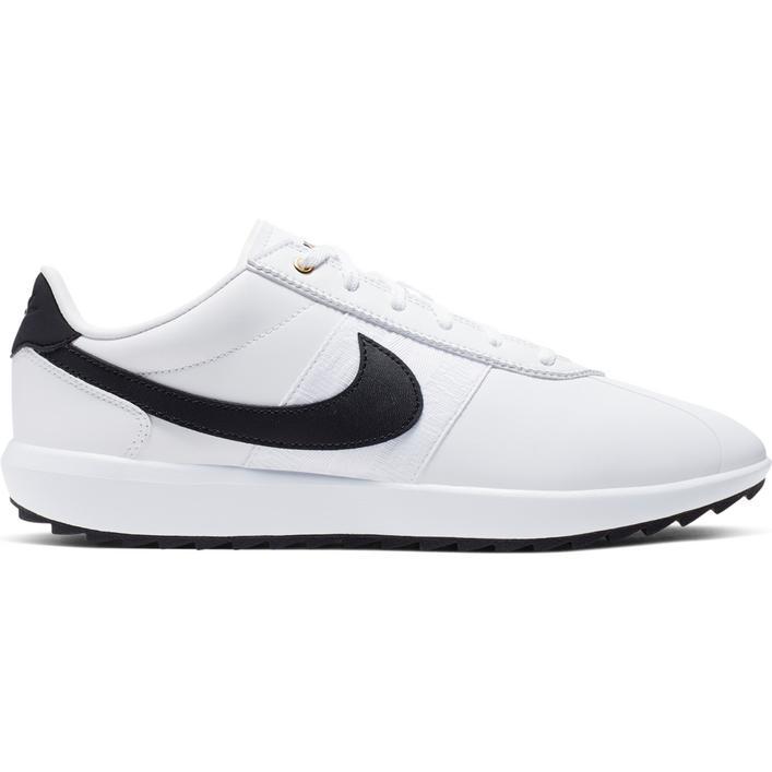 Chaussures Cortez G sans crampons pour femmes - Blanc/Noir