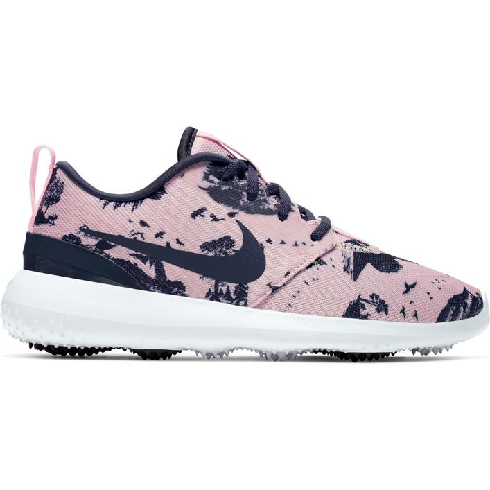 Women's Roshe G Printed Spikeless Golf Shoe - Pink/Dark Grey