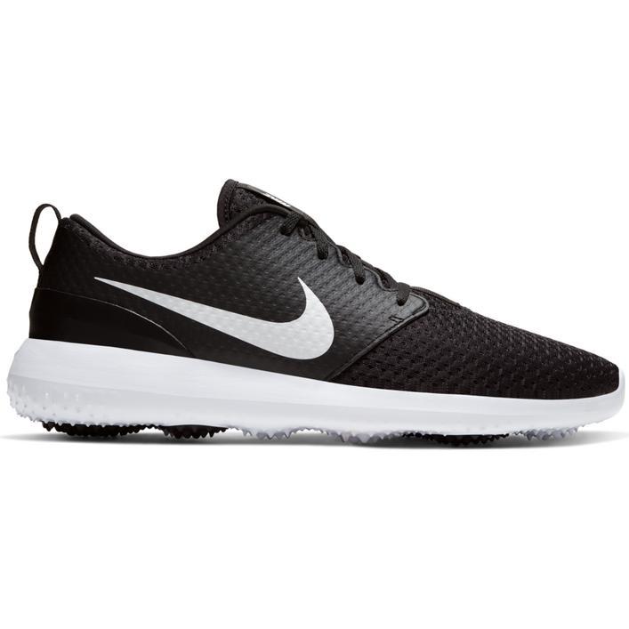 Chaussures Roshe G sans crampons pour hommes - Noir/Blanc