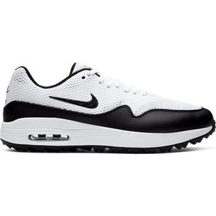 Men's Air Max 1 G Spikeless Golf Shoe - White/Black
