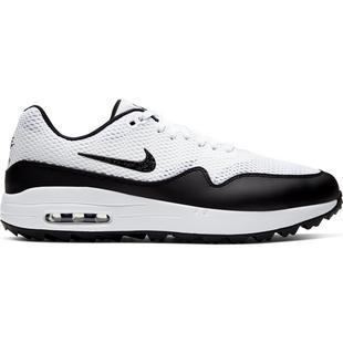 Chaussures Air Max 1 G sans crampons pour hommes - Blanc/Noir
