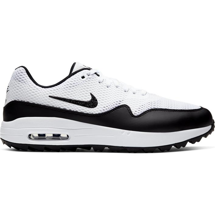 Men's Air Max 1 G Spikeless Golf Shoe - White/Black