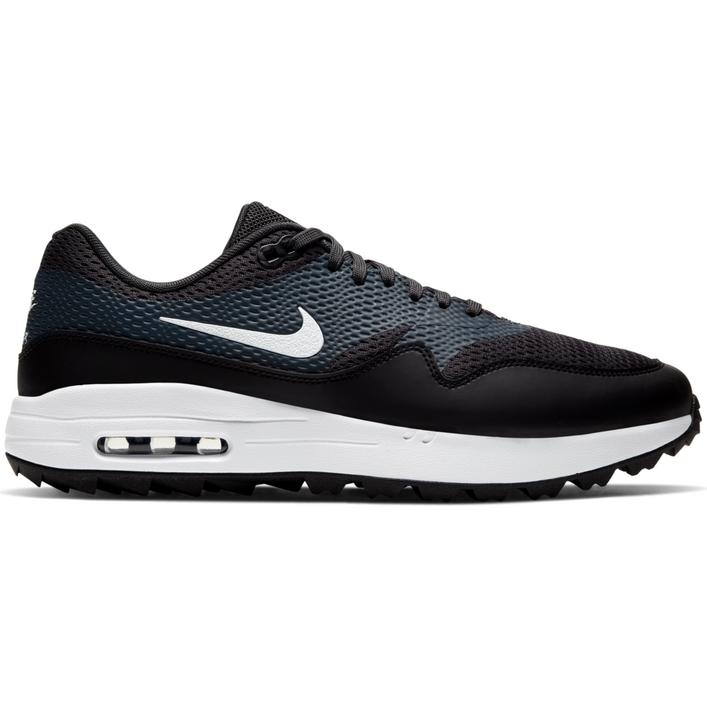Chaussures Air Max 1 G sans crampons pour hommes - Noir/Blanc
