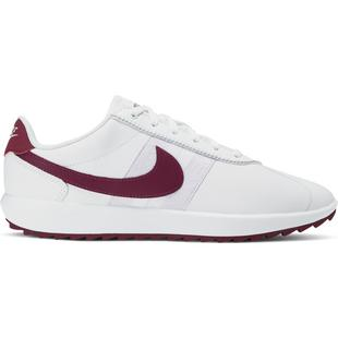 Women's Cortez G Spikeless Golf Shoe - White/Dark Purple