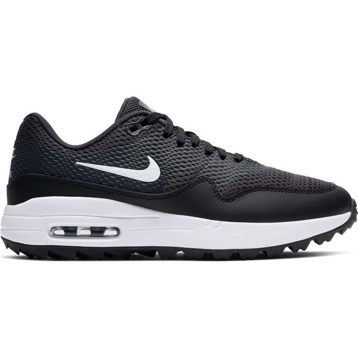 Chaussures Air Max 1 G sans crampons pour femmes - Noir/Blanc