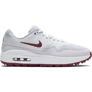 Women's Air Max 1 G Spikeless Golf Shoe - White/Purple