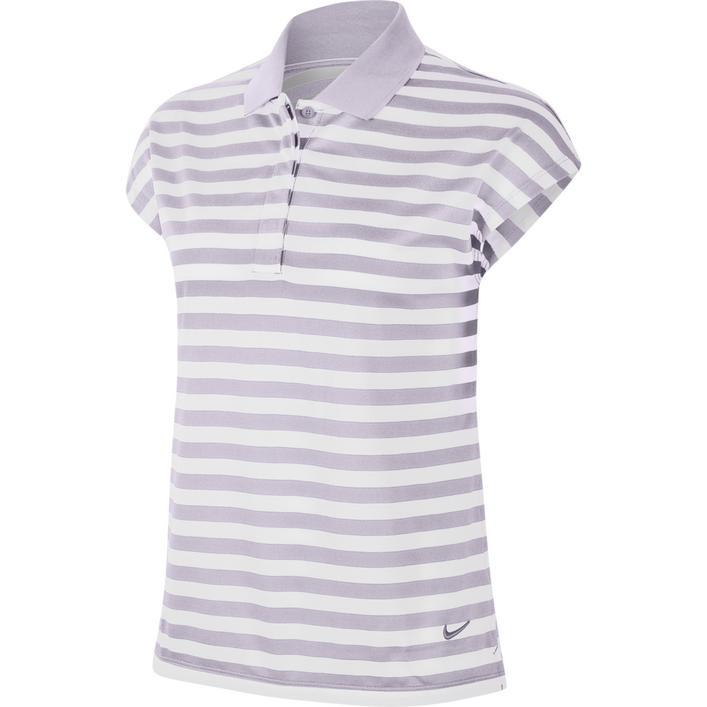 Women's Fairway Stripe Short Sleeve Polo