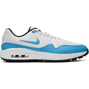 Men's Air Max 1 G Spikeless Golf Shoe - White/Blue