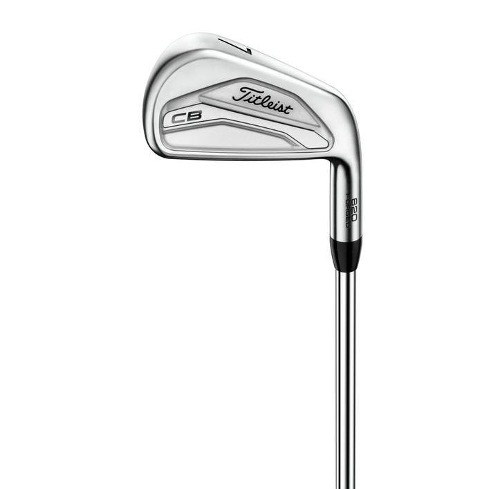 620 CB 3-PW Iron Set with Steel Shafts