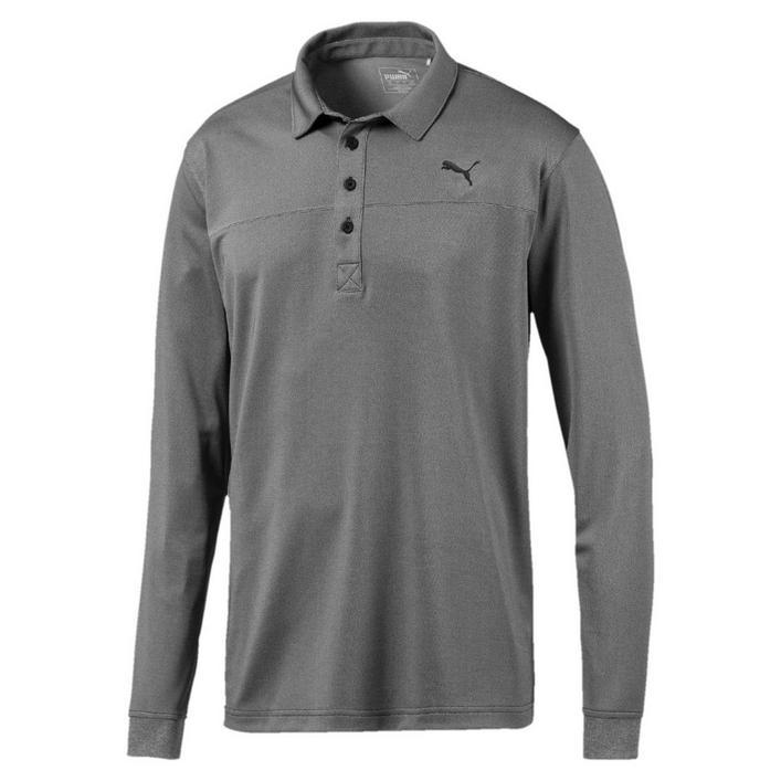 Men's Heathered Long Sleeve Shirt
