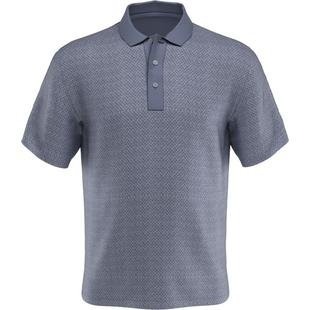 Men's Mini Diamond Jacquard Heather Short Sleeve Shirt