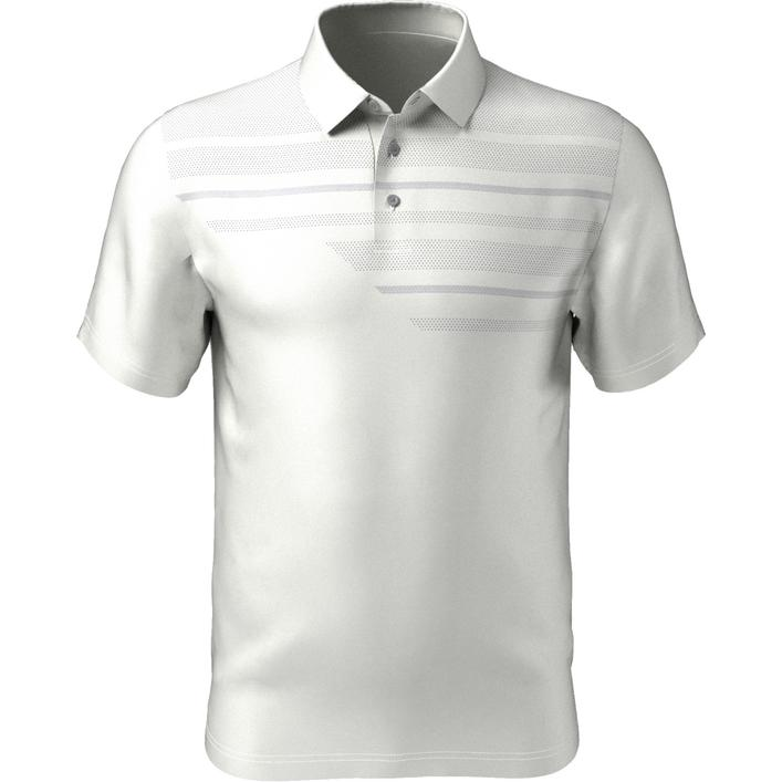 Men's Asymetrical Birdseye Short Sleeve Shirt