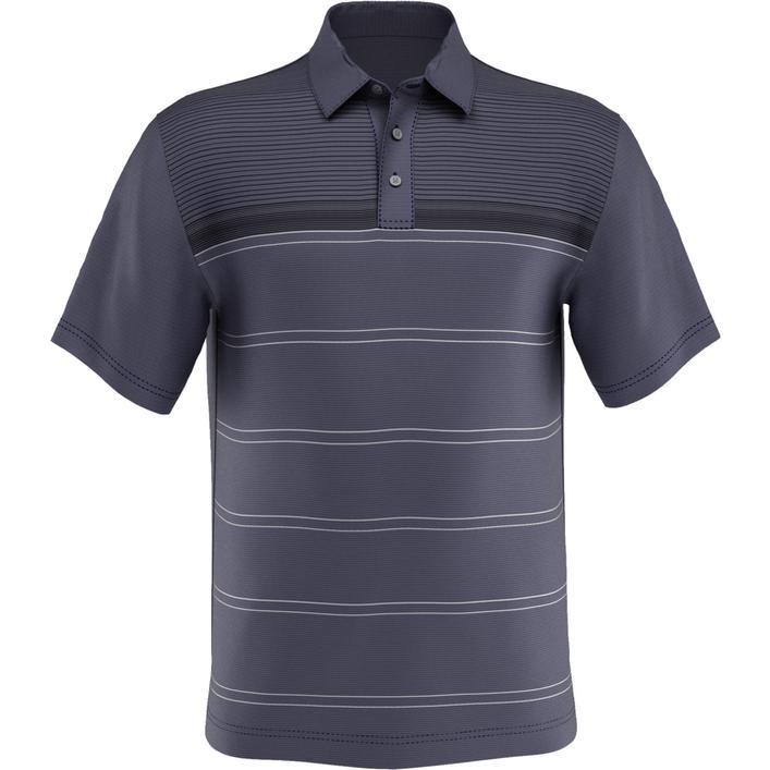 Polo Blurred Lines à manches courtes avec poche pour hommes