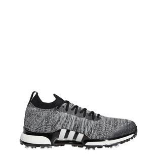 Men's Tour360 Primeknit Spiked Golf Shoes - Black/White