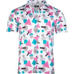 Polo Miami Vice à manches courtes pour hommes