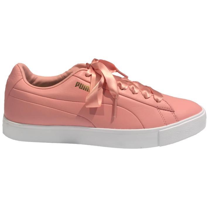 Chaussures OG en cuir sans crampons pour femmes - Rose pâle