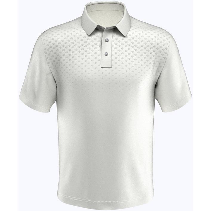 Men's Chest Argyle Short Sleeve Shirt
