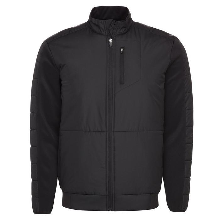 Men's Warmth Insulation Full Zip Puffer Jacket