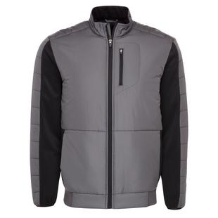 Men's Warmth Insulation Full Zip Puffer Jacket