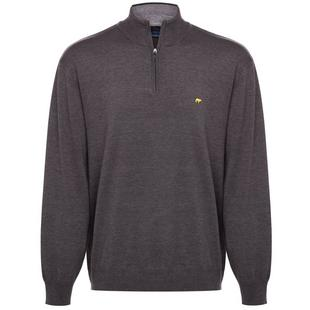 Men's Heather 1/4 Zip Sweater