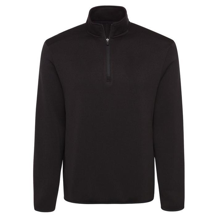 Men's Solid Knit Fleece Sweater