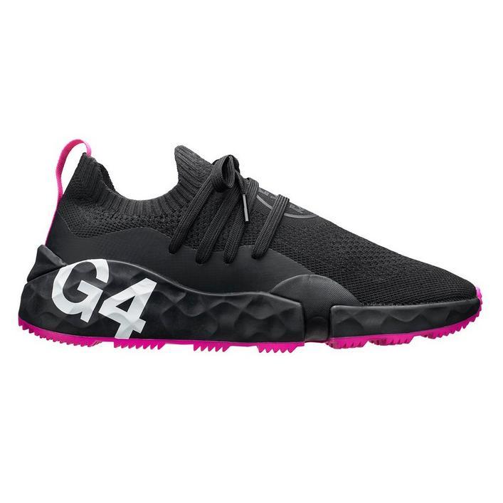 Men's MG4.1 Spikeless Golf Shoe - Black/Pink