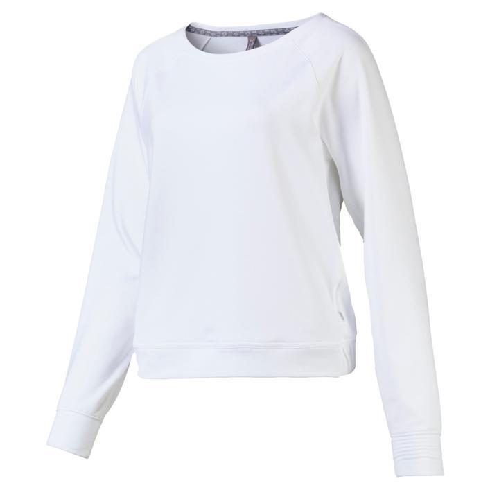Womens Crewneck Fleece Long Sleeve Sweater