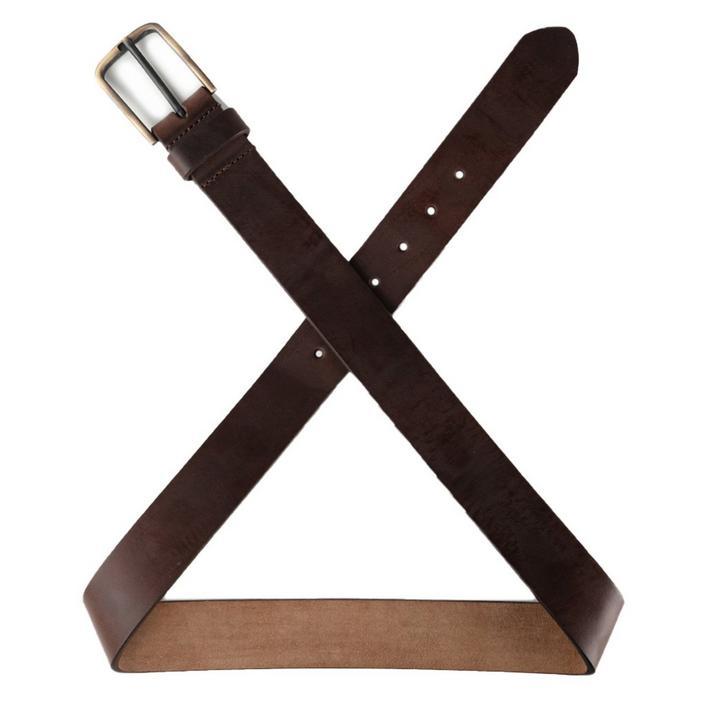 Men's Brass Tacks Leather Belt