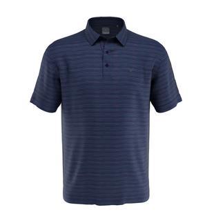 Men's Marled Texture Stripe Short Sleeve Shirt