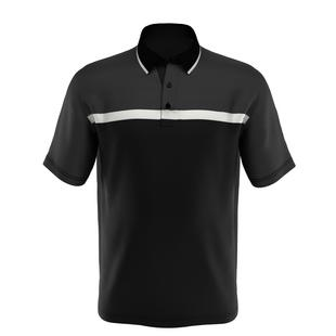 Men's Swing Tech Fine Line Colourblock Short Sleeve Shirt
