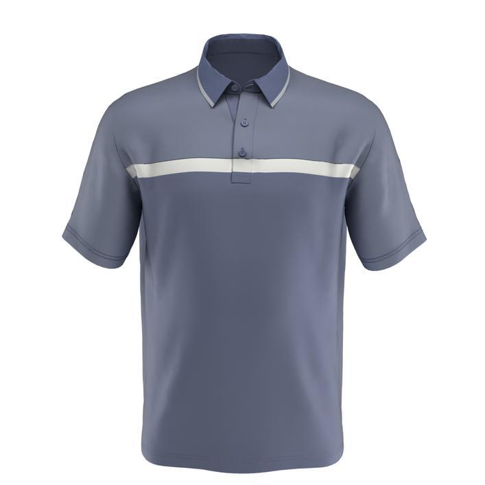Men's Swing Tech Fine Line Colourblock Short Sleeve Shirt