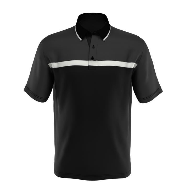 Men's Big & Tall Swing Tech Fine Line Colourblock Short Sleeve Shirt
