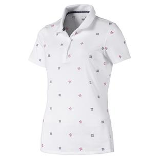 Women's W Disty Short Sleeve Polo